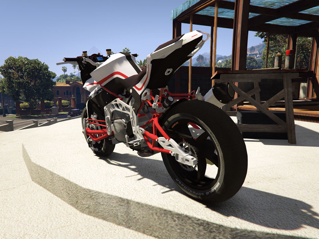 GTA V REAL BIKE MOD: Bimota 3D Naked - YouTube