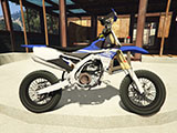 Yamaha YZ450F - Supermoto with Liveries (PSD Template)