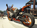 Honda CBR1000RR Fireblade (Grey & Orange)