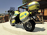 Portuguese SNS - INEM Motorcycle - BMW GS 1200 [Add-On]